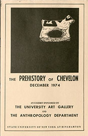 1974 Prehistory of Chevelon