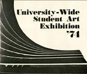 1974 university wide student art exhibition