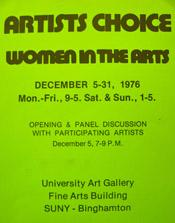 196 Artists Choice Women in the Arts