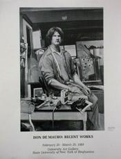 1983 Don Demauro Poster