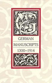1988 German Manuscripts