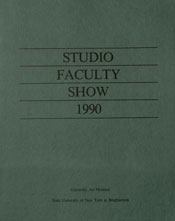 1990 faculty show