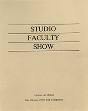 studio faculty show