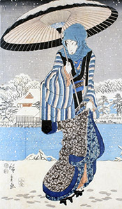 Japanese Woodblock Print, Past and Present