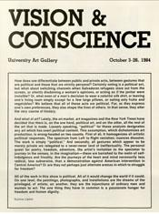 1984 vision conscience