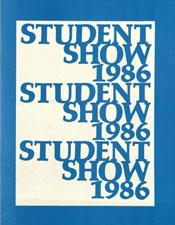 1986- student show