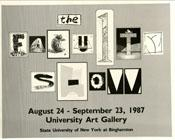 1987-faculty-show
