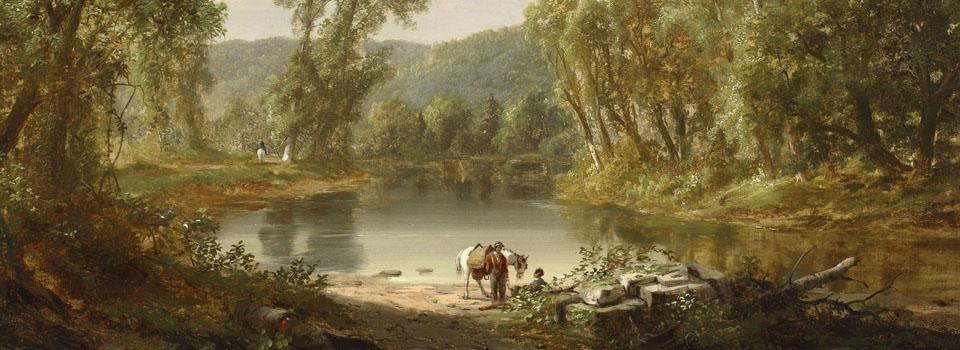Thomas Doughty, South Branch of the Potommac,ca. 1840