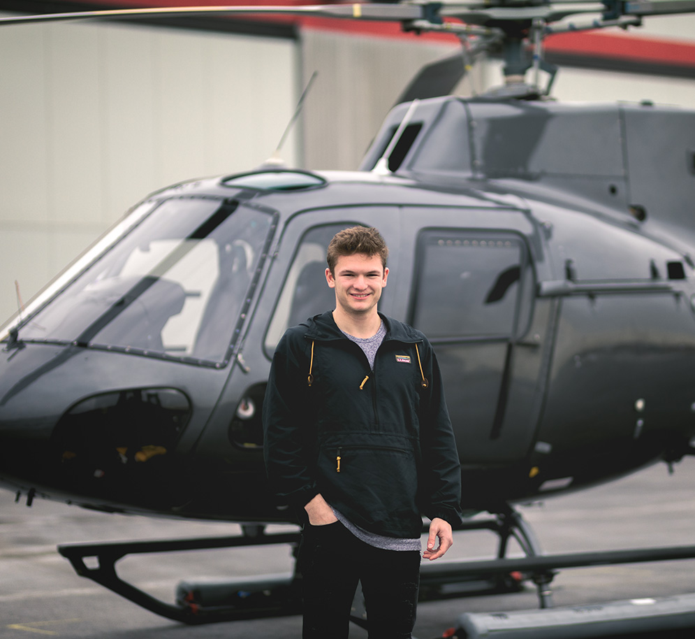 Adam Mcie '16, MS '17: Videographer/Photographer at FlyNYON