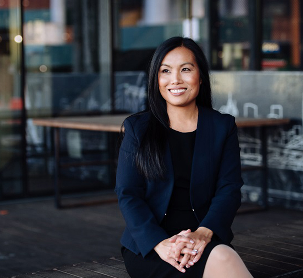 Maggie Chan Jones '96: Founder and CEO of Tenshey, Inc.