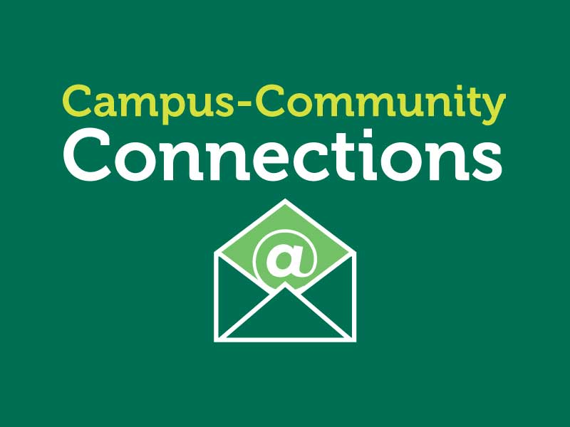 CCE's weekly e-newsletter is full of inspiration and opportunities for community-engaged students.