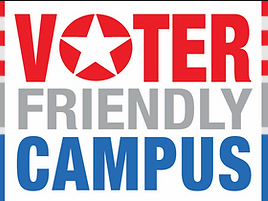 "Binghamton University is one of over 231 campuses in 37 states and the District of Columbia designated as a ""Voter Friendly Campus."""