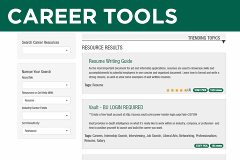 Career Tools Library