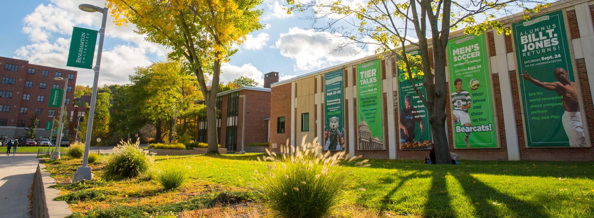Binghamton university channel guide.