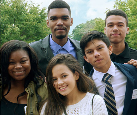 Give Back scholars at The College of New Jersey