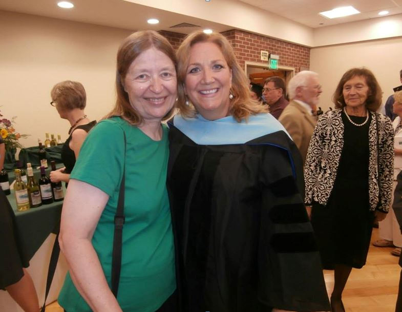 Nancy Barno Reynolds with Professor and Mentor Dr. Elizabeth Tucker