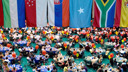 International Dinner in the event center