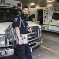 A Day in the Life of Lou Toujague: An Ambulance-Driving EMT