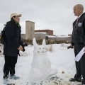 Presenting: The Winners of the Binghamton University 2016 Snow Sculpture Contest