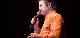 Nick Offerman Performs at the Events Center