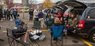 Tailgating at Homecoming Weekend