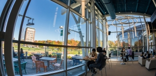 Fall Foilage Seen from New Dining Area