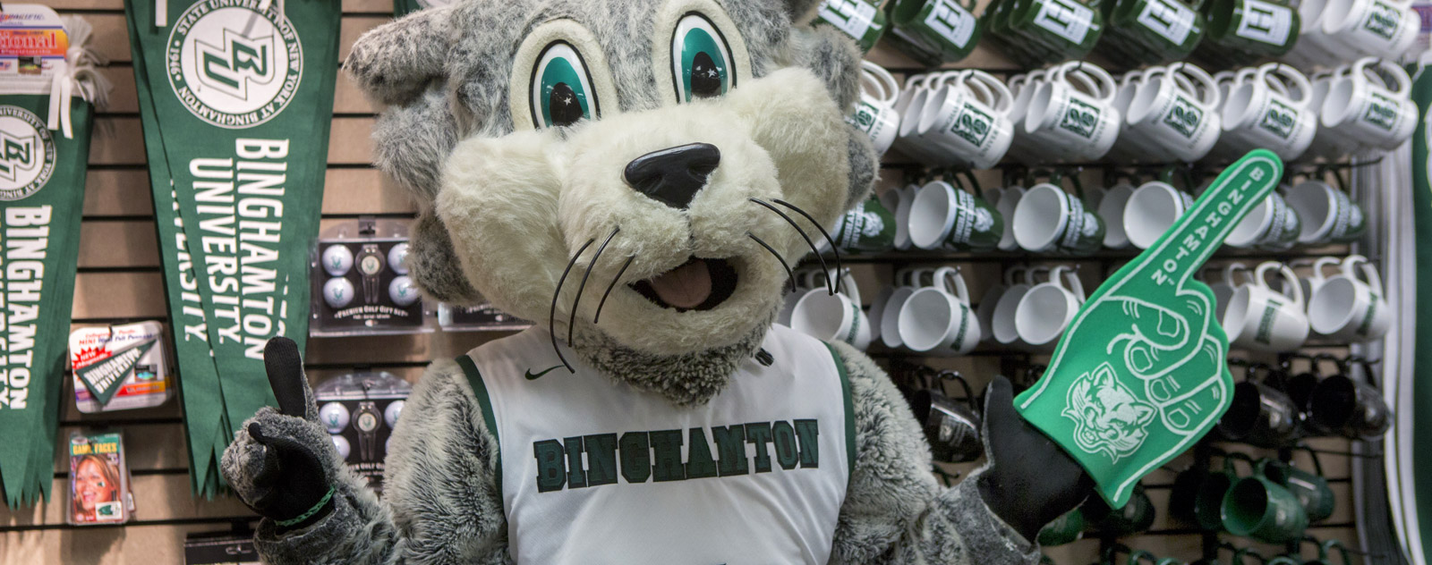 Baxter's Favorite Things  About Binghamton University