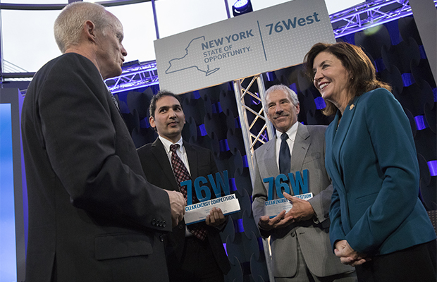 Two Binghamton University startups winners in 76West Clean Energy Competition