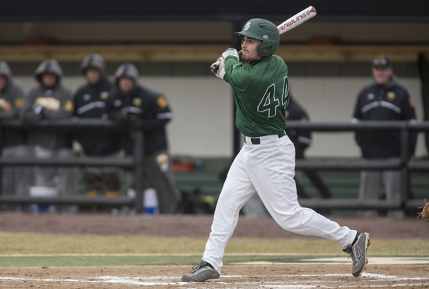 America East Player of the Year candidate Jake Thomas will move from left field to right field for his senior season.