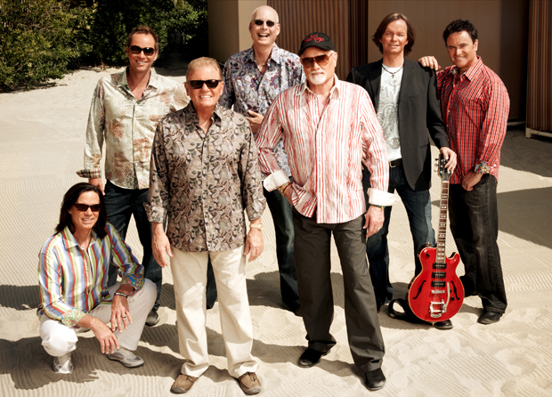 Bruce Johnston and Mike Love, front center, and the Beach Boys will perform at the Anderson Center for the Performing Arts at 8 p.m. Wednesday, Aug. 24.