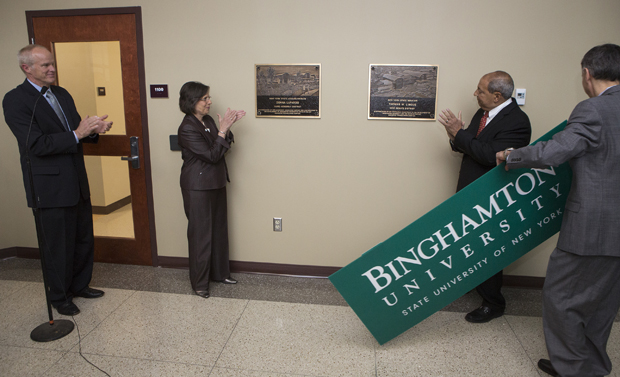 University dedicates Center of Excellence
