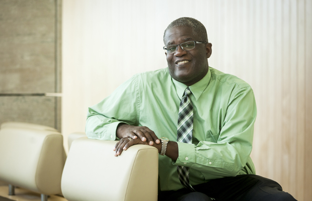 Calvin Gantt '92 is the new director of Binghamton University's Educational Opportunity Program.