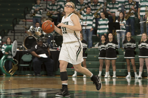 Freshman Rebecca Carmody's heroics led the Bearcats to a 51-50 victory over New Hampshire on Jan. 9