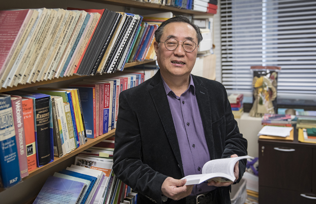 Sungdai Cho, director of Binghamton University's Center for Korean Studies, will lead an international team of researchers studying Korean linguistics.