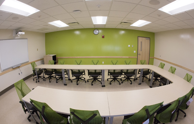 Collaborative approach brings 20 classrooms online in Student Wing