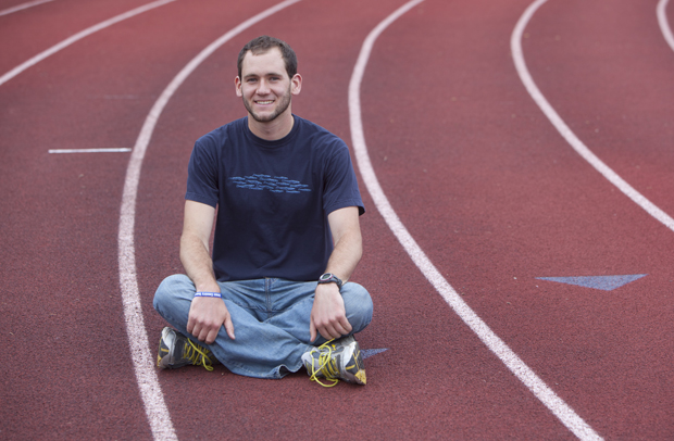 Craig Coon '10 has had a strong finish to his time at Binghamton University. He placed 28th in the Boston Marathon and has a job lined up with Knolls Atomic Power Laboratory.