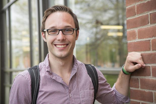 As part of the Binghamton Advantage Program, Steven Corrrell spent his freshman year at SUNY Broome Community College before taking classes at Binghamton University.
