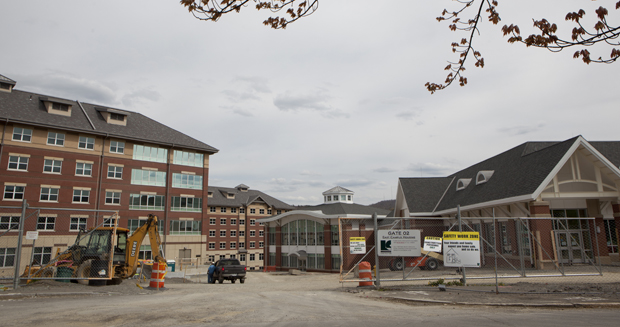 The East Campus Housing Project – Chenango Champlain Collegiate Center, and Delaware, Endicott and Broome halls  – is scheduled to open in the fall.