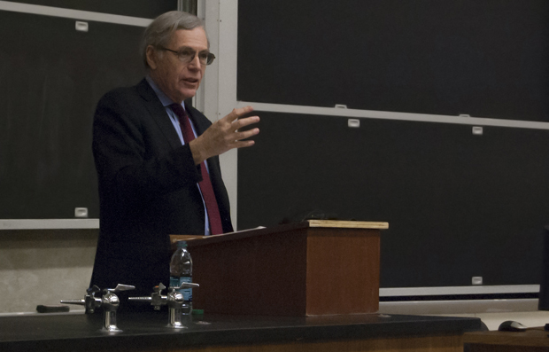 Historian and author Eric Foner, Dewitt Clinton Professor of History at Columbia University, speaks at the 2013 Harvey and Elizabeth Prior Shriber Lecture.