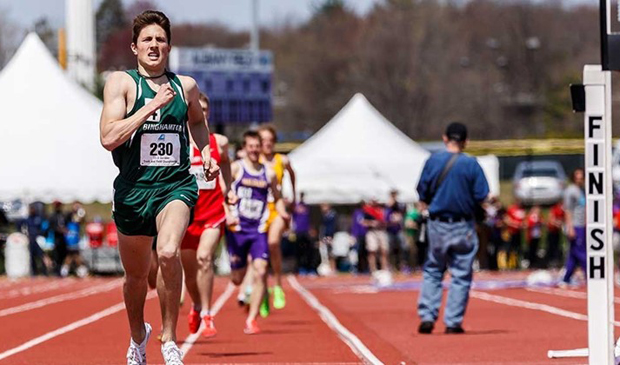 Jesse Garn will compete in the 800 finals of the NCAA East Regional Outdoor Track and Field Championships tonight. Six runners will advance to the NCAA Championships.