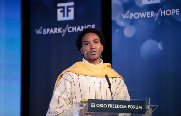 English Professor Thomas Glave, seen here addressing the Oslo Freedom Forum, is spending 2014 as a visiting professor at the University of Warwick.
