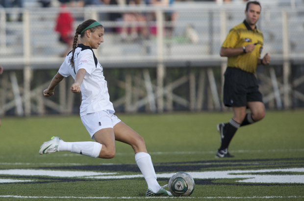 Sophomore back Connie Gormley and the women's soccer team will open the 2012 season at Bucknell on Aug. 17. Gormley was a member of the America East All-Rookie Team and America East Honor Roll in 2011.