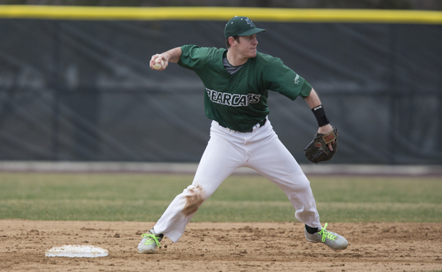 Smooth-fielding shortstop John Howell is one of nine starting position players returning to the 2014 Binghamton Bearcats.