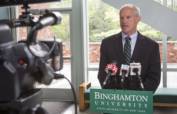 Binghamton earns national designation as 'Innovation & Economic Prosperity University'