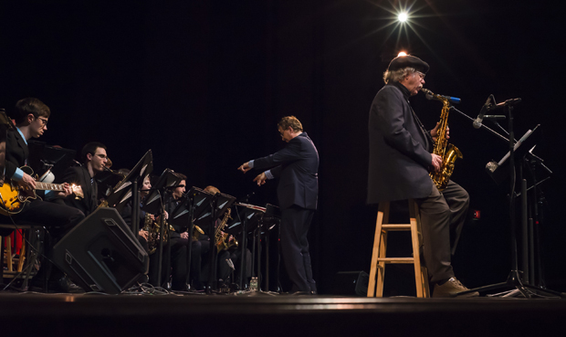 Harpur Jazz Ensemble welcomes Richie Cole