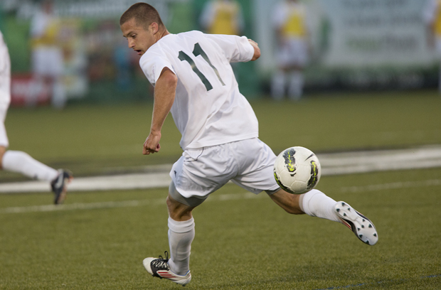 Jake Keegan is the first Binghamton University player to be drafted by a Major League Soccer club.