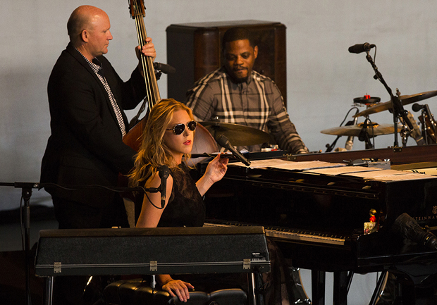 Diana Krall dazzles campus crowd
