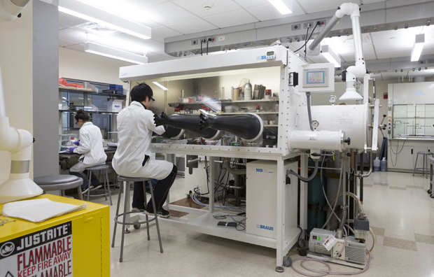 The NorthEast Center for Chemical Energy Storage (NECCES) is one of four federally designated research centers at Binghamton University.
