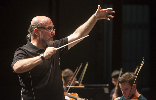 Music Professor Timothy Perry will direct the University Symphony Orchestra at its