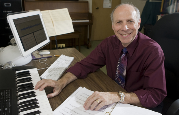 A concert celebrating the life of Paul Goldstaub, seen here in 2008, will be held at 7:30 p.m. Saturday, Jan. 31, in the AC-Chamber Hall. The concert, which will take place on the one-year anniversary of Goldstaub's death, will feature past and present Binghamton University music faculty members and students performing Goldstaub's works.